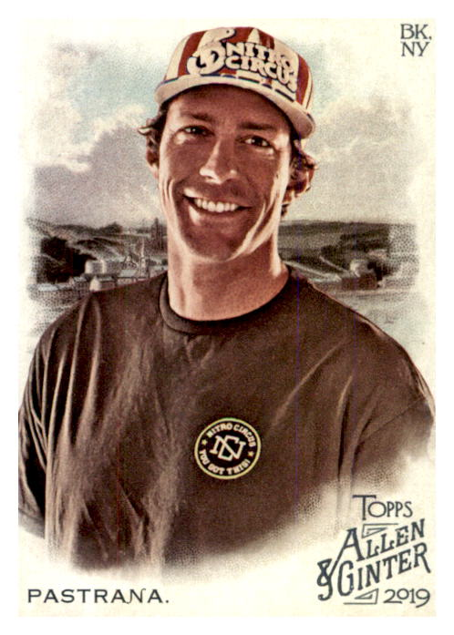 2019 Topps Allen and Ginter #184 Travis Pastrana
