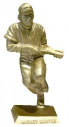 1956 Big League Statues Baseball #11 Mickey Mantle