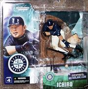 2003 McFarlane Baseball Series 4-7 #50 Ichiro Suzuki Blue