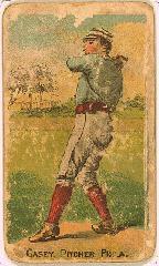 1887 Buchner Gold Coin N284 #76 Dan Casey *