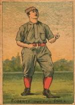 1887 Buchner Gold Coin N284 #80 Jim Fogarty