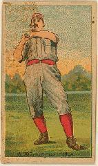 1887 Buchner Gold Coin N284 #83A Pete Wood/Philadelphia/Fielding