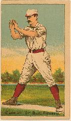 1887 Buchner Gold Coin N284 #87 Fred Carroll