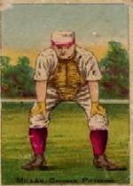 1887 Buchner Gold Coin N284 #90 Doggie Miller
