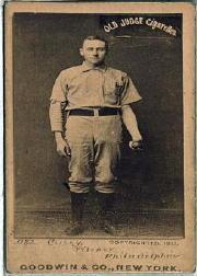1887-90 Old Judge N172 #77 Dan Casey