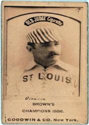 1887-90 Old Judge N172 #216 William Gleason