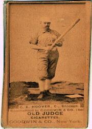 1887-90 Old Judge N172 #261 Charles Hoover