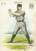1888 WG1 Card Game #10 Cap Anson