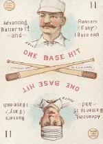1889 Edgerton R. Williams Game #9 Dave Foutz/King Kelly