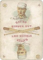 1889 Edgerton R. Williams Game #18 Toad Ramsey/Gus Weyhing