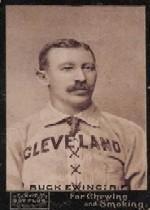 1895 Mayo's Cut Plug N300 #13B Buck Ewing Cleveland