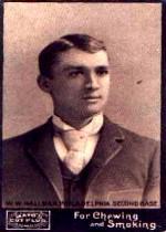 1895 Mayo's Cut Plug N300 #20 Bill Hallman