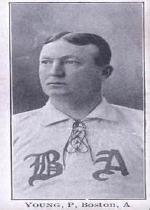 1903-04 Breisch-Williams E107 #159 Cy Young