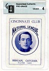 1904 Allegheny Card Company #6 Bill Bergen