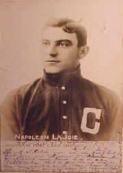 1905 Indians Souvenir Postcard Shop of Cleveland PC785 #13 Nap Lajoie