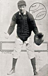 1905 Providence Clamdiggers Postcard #2 Bob Peterson