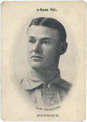 1906 Fan Craze AL WG2 #9 Sam Crawford