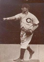 1907 Cubs A.C. Dietsche Postcards PC765 #6 Carl Lundgren
