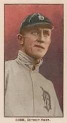 1909 Philadelphia Caramel E95 #5 Ty Cobb