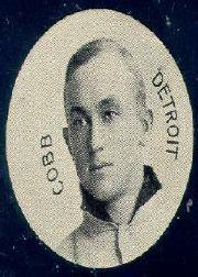 1909-11 Colgan's Chips E254 #57B Ty Cobb w/o Name