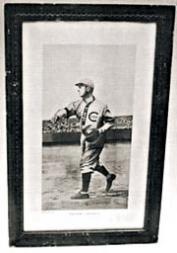1910 Baseball Magazine Premium Posters #1 Frank Chance