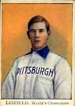 1910 Pirates Tip-Top D322 #10 Lefty Leifield