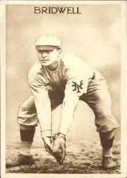 1910 Sepia Anon PC796 #2 Al Bridwell/Stooped fielding