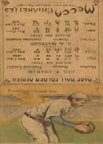 1911 Mecca Double Folders T201 #34 Al Mattern/Peaches Graham