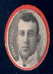 1912 Colgan's Chips Red Border #1 Ed Abbaticchio