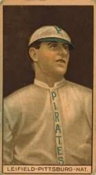 1912 T207 Brown Background #102 Lefty Leifield