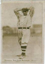 1914 Fatima Players T222 #13 Albert Demaree