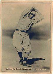 1914 Fatima Players T222 #43 Slim Sallee