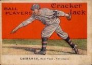 1914 Cracker Jack #92 Al Demaree N.Y. NL