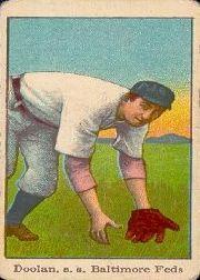 1915 American Caramel E106 #14 Mickey Doolan