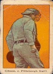 1915 American Caramel E106 #19A George Gibson Back