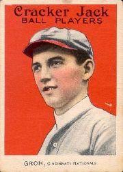 1915 Cracker Jack #159 Heinie Groh