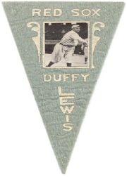 1916 Ferguson Bakery Felt Pennants BF2 #6 Duffy Lewis