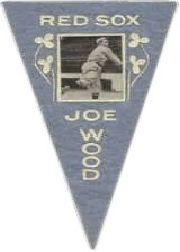 1916 Ferguson Bakery Felt Pennants BF2 #7 Joe Wood