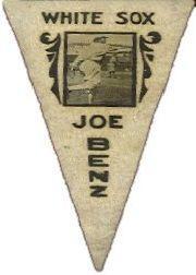 1916 Ferguson Bakery Felt Pennants BF2 #8 Joe Benz