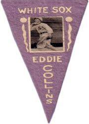 1916 Ferguson Bakery Felt Pennants BF2 #9 Eddie Collins