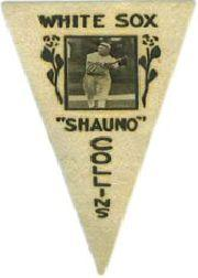 1916 Ferguson Bakery Felt Pennants BF2 #10 Shano Collins