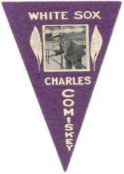 1916 Ferguson Bakery Felt Pennants BF2 #11 Charles Comiskey OWN