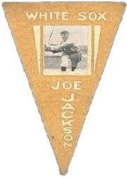 1916 Ferguson Bakery Felt Pennants BF2 #13 Joe Jackson