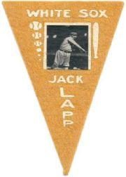 1916 Ferguson Bakery Felt Pennants BF2 #14 Jack Lapp