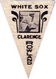 1916 Ferguson Bakery Felt Pennants BF2 #16 Pants Rowland MG