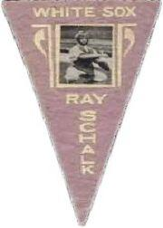 1916 Ferguson Bakery Felt Pennants BF2 #18 Ray Schalk