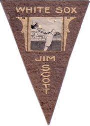 1916 Ferguson Bakery Felt Pennants BF2 #19 Jim Scott