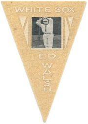 1916 Ferguson Bakery Felt Pennants BF2 #20 Ed Walsh