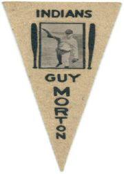 1916 Ferguson Bakery Felt Pennants BF2 #24 Guy Morton