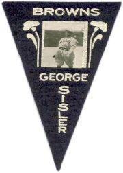 1916 Ferguson Bakery Felt Pennants BF2 #45 George Sisler